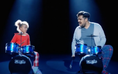 Argos Christmas Advert – Staring role one of our drummers