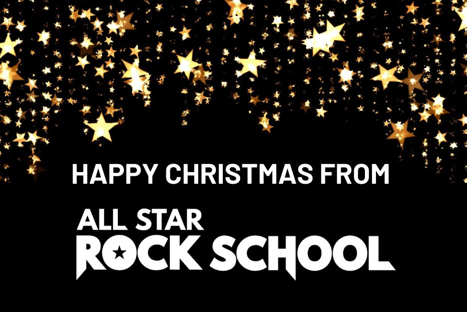 Christmas Message from All Star Rock School
