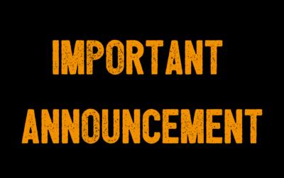 Important Student Update – Coronavirus