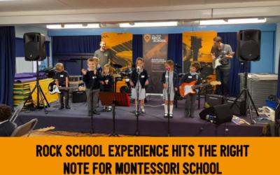 All Star Rock School 'in school' sessions launch